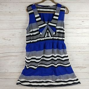 Maurices striped sleeveless dress XXL